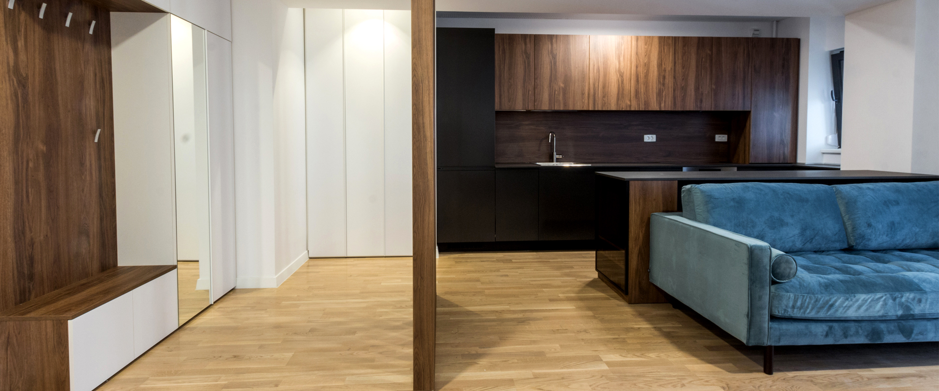 Inchiriere apartament 2 camere   Nou   Complex Arcadia, Domenii [ID: 1024297]
