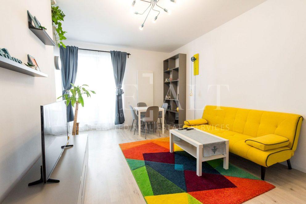 Inchiriere apartament 2 camere | Laguna Residence | Barbu Vacarescu [ ID 966933 ]