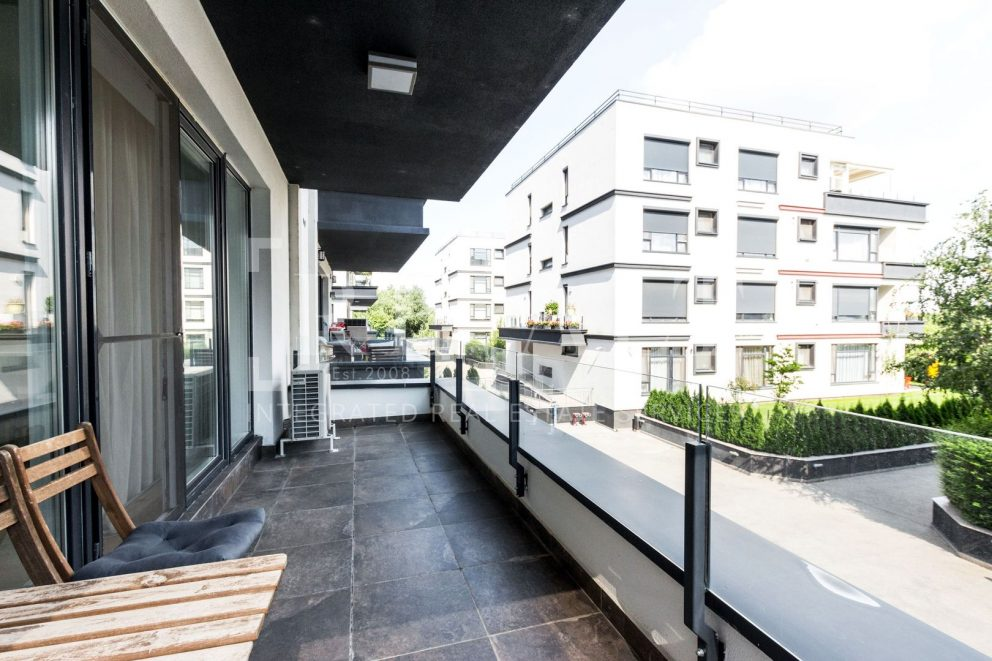 Inchiriere apartament 3 camere | Spatios, vedere lac | Laguna, Barbu Vacarescu [ ID 967523 ]